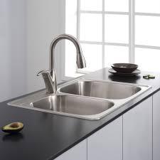 kohler brushed nickel kitchen faucet bronze kitchen sink kohler undermount stainless steel sink