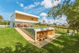 backyard landscaping partially underground home plans partially underground home plans