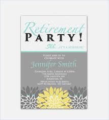 retirement invitations retirement party invitation template brandhawaii co