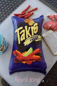 takis chips cake my work www facebook com royal icing1