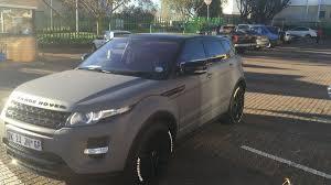 wrapped range rover evoque range rover evoque black widow designer vehicle wraps