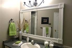 Trim For Mirrors In Bathroom Border Around Bathroom Mirror Juracka Info