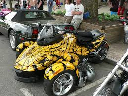 spyder cost a custom paint on a canam spyder source http flickr com