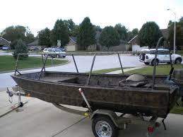 boat blind build with an aluminum frame refuge forums
