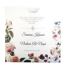 Pakistani Wedding Invitation Cards Abc 852 Muslim Personalised Pocket Invitation 1 70 Indian