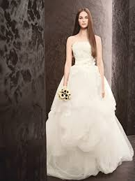 spring 2013 wedding dress white vera wang bridal gowns style
