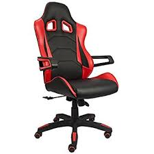 Desk Chair For Lower Back Pain Amazon Com Devoko Gaming Chair Racing Style Bucket Seat Premium