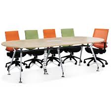 Office Furniture Meeting Table Conference Table With Empty Chairs For Modern Office Modern New