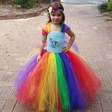 Rainbow Halloween Costume Cheap Rainbow Pony Costume Aliexpress Alibaba Group