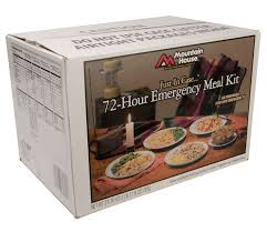 mountain house 72 hour emergency meal kit details last stand