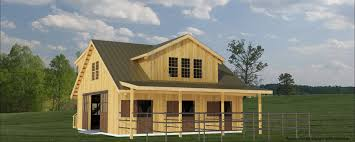 build a barn the westwood 4 stall horse barn plans for barns