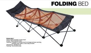Portable Folding Bed Cing Bed Folding Bed Portable Bed Lawn Bed Pab305 Bed Cing