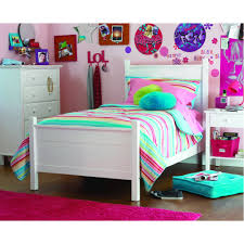 dorel home your zone zzz place to be twin bed white walmart com
