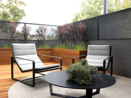 modern planters indoor patio contemporary with black coffee table