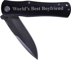 amazon com world u0027s best boyfriend folding pocket knife great