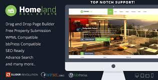 homeland v3 1 8 responsive real estate wordpress theme infitheme