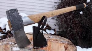 Handmade Swedish Axe - gransfors bruks splitting maul review
