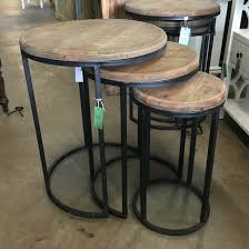 round nesting coffee table catchy round nesting coffee table with urban round nesting table