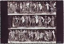 abbaye de la chaise dieu la grande danse macabre abbaye de la chaise dieu la cigo flickr