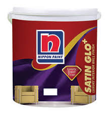 nippon satin glo paint acrylic emulsion paint luxurious