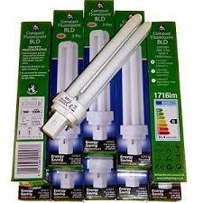 100w cfl light bulbs 10 x 26 watt 100w 2 pin low energy fluorescent l cfl light