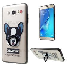 acrylic dog ring holder images Acrylic tpu combo case with ring holder for samsung galaxy j7 jpg