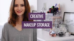 creative makeup storage ideas for small collections