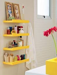 Bathrooms With Storage Bathroom Yellow Storage Bathrooms 25 Simple And Small Bathroom