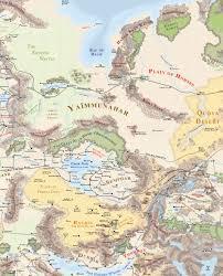 Map Of Faerun Hordelands Othya Wiki Fandom Powered By Wikia