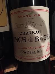 wine from château lynch bages 2016 château lynch bages bordeaux médoc pauillac