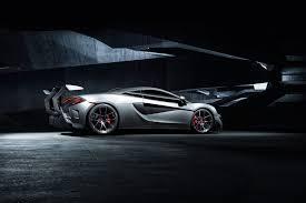 custom mclaren p1 mclaren 570s aero rear bumper w rear diffuser vorsteiner nero