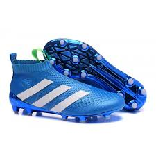 buy boots football buy blue white adidas ace 16 purecontrol fg ag football boots