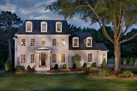 Exterior White Wood Paint - exterior home decorating ideas exterior traditional with night