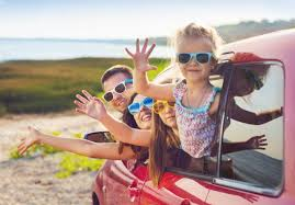 the secret to surviving a long car journey with children