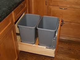 kitchen cabinet recycle bins rooms