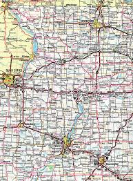 Illinois Tollway Map Interstate Guide Interstate 39