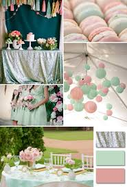 mint wedding decorations design decoration