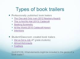 Seeking Genre What Is A Book Trailer A Book Trailer Is Actually A Sub Genre Of