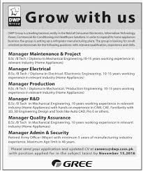 dwp group pakistan jobs 2016 available for 6 job vacancies on 24