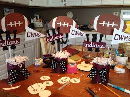 best 25 football centerpieces ideas on pinterest football party
