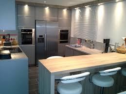 agencement cuisine agencement cuisine avec frigo américain ack cuisines