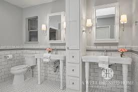 bathroom border ideas gray border tiles design ideas