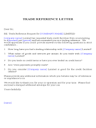 letter of recommendation template scholarship trade reference template 5 free templates in pdf word excel trade reference letter sample