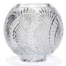 Vintage Waterford Cut Glass Crystal Vase Starburst Pattern Waterford Crystal Clarendon Ruby Double Old Fashioned Ebay