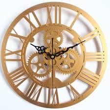decorative wall clock aliexpress com buy large size gear clock quartz silent