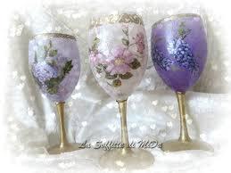 decorazioni bicchieri bicchieri decorati la soffitta di mida