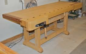 Carpentry Work Bench Workbenches And Our Work Stuart C Blanchard