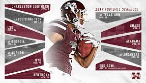 2017 msu football schedule unveiled egg bowl to return to