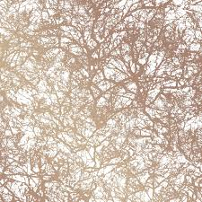 self adhesive wall paper forest self adhesive wallpaper in copper design by tempaper