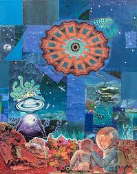28 best larry carlson collage artwork images on